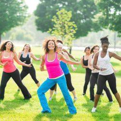 Dance Aerobics Outdoor Workshop!